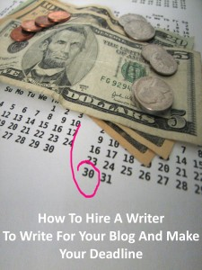 Use Hire Writers to Hire A Writer And Make Your Deadline - Hire writers has hundreds of writers available at every skill level that will write quickly, and to any budget.